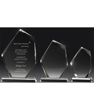 Picasso Prisma Crystal Trophy - 175mm