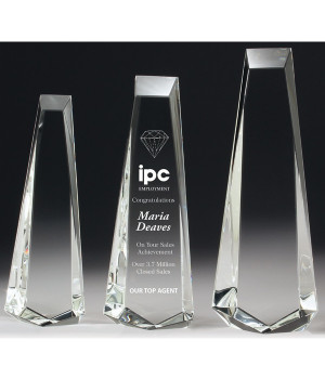 Elite Acclaim Crystal Award-255mm