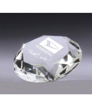 Gemstone Crystal Paperweight Award-70mm