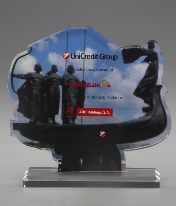 Custom Shape Crystal Trophy